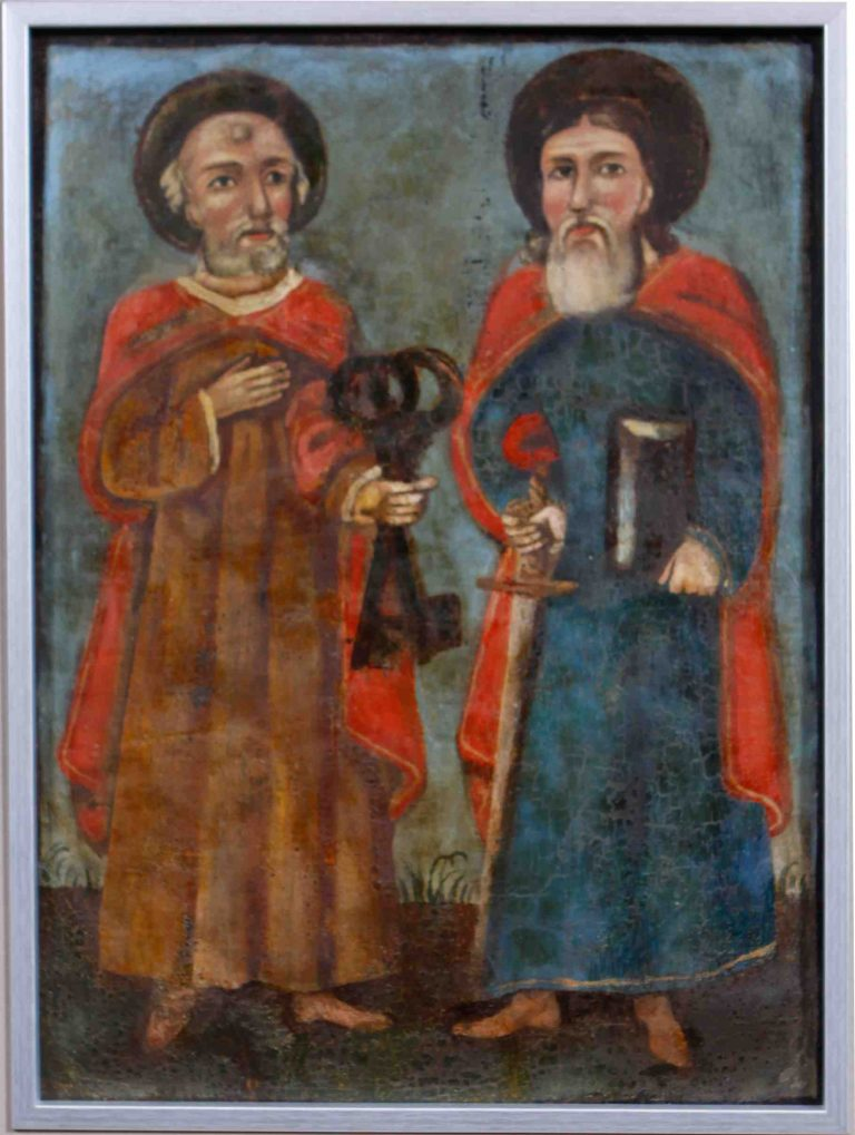 Chorągiew procesyjna Święty Piotr i Paweł