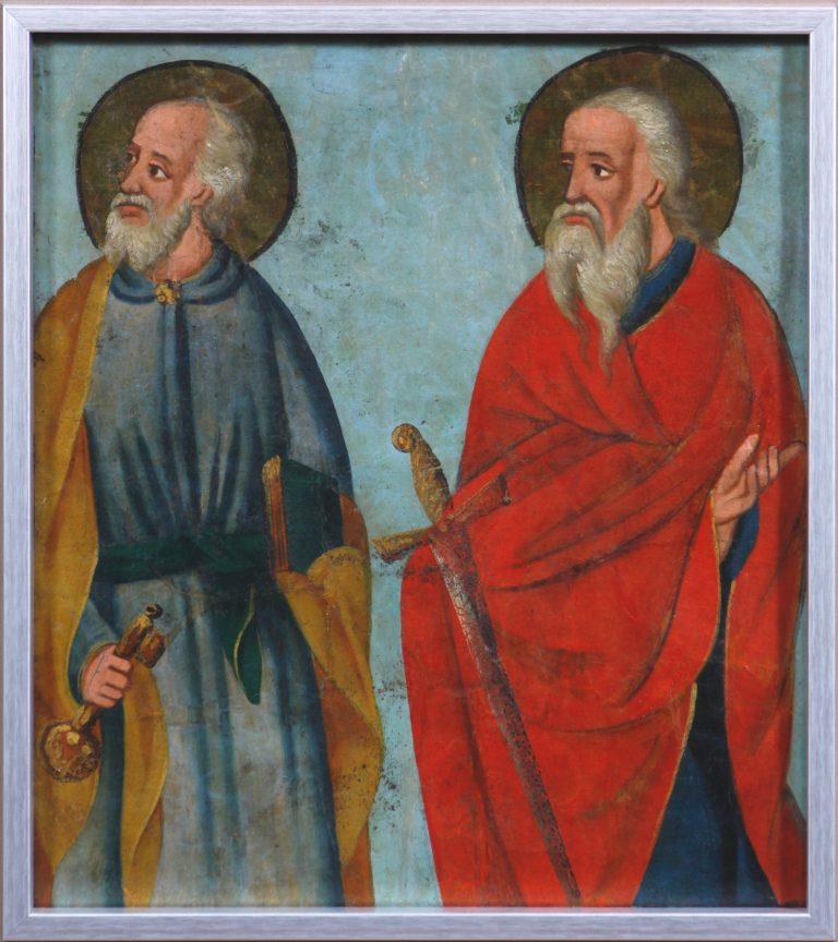 Chorągiew procesyjna Święci Piotr i Paweł