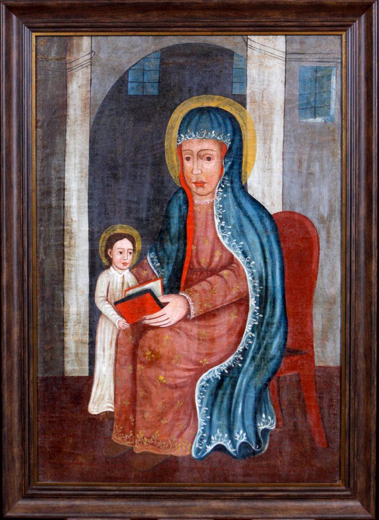 Święta Anna nauczająca Maryję